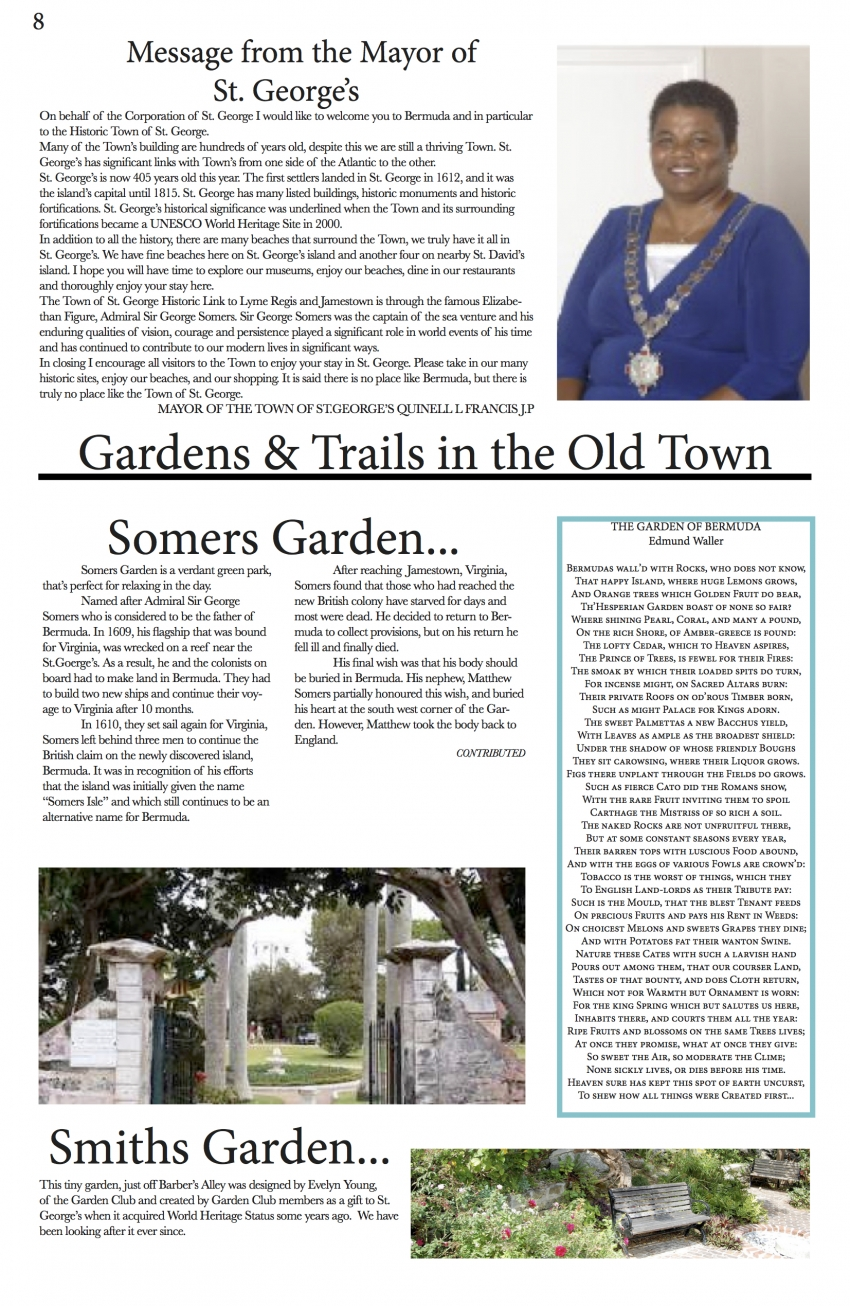 ST. GEORGE'S CROWN NEWSPAPER