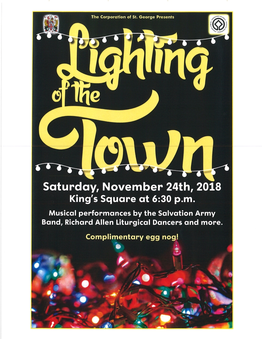 LIGHTING OF THE TOWN